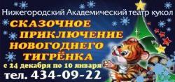 «Сказочные приключения Новогоднего Тигренка»